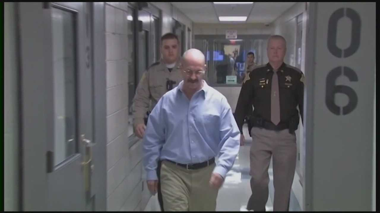Convicted murderer Clyde Gibson was in court Wednesday weeks before his final murder trial.