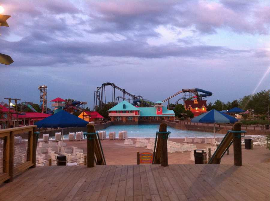 May 23, 2014: One day before Kentucky Kingdom reopens