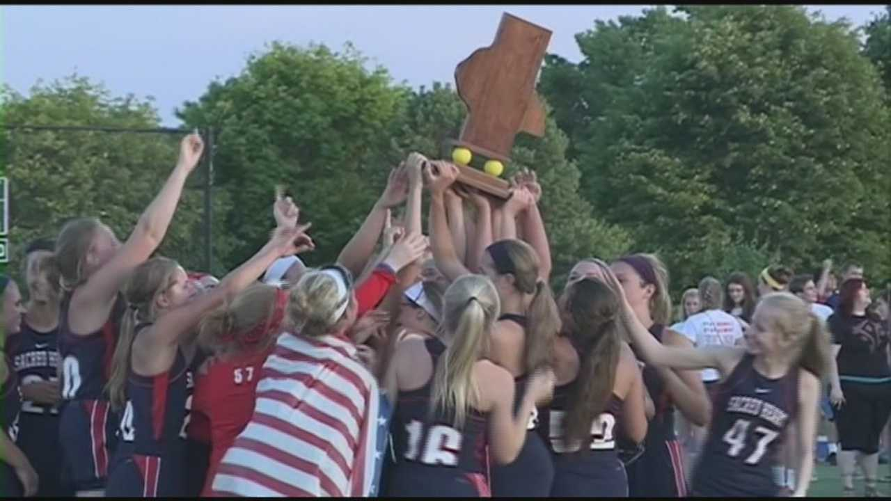 The Sacred Heart girls lacrosse team wins its third lacrosse state championship in four years.