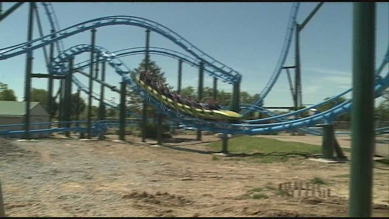 Thousands head to Kentucky Kingdom Saturday for the parks grand re-opening.