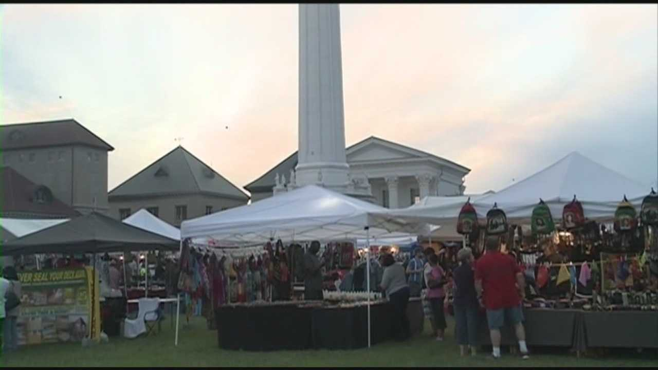The Louisville Water Tower is packed this weekend for the Kentucky Reggae Festival