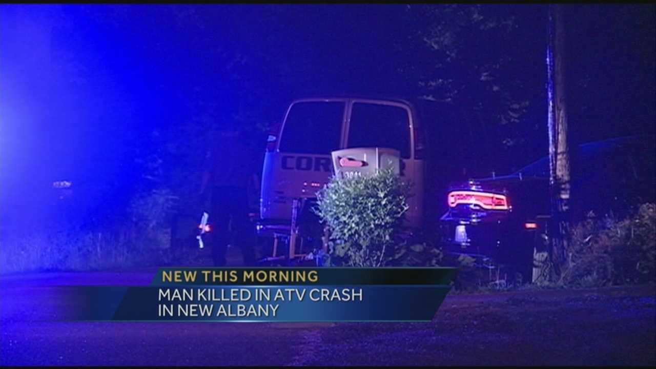 Man killed in New Albany ATV crash