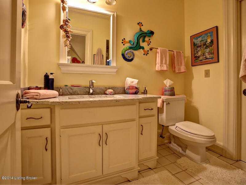 Possible children's bathroom.