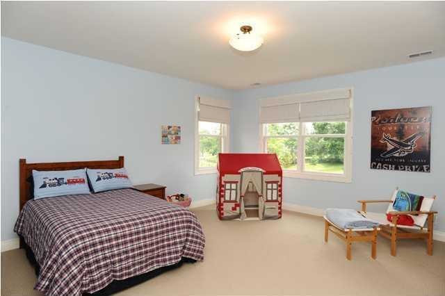 Each of the upstairs room offer great views and a private bathroom.
