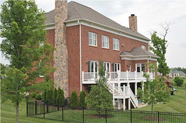 The three story mansion stretches to 7,589 sq. ft. and was built in 2007.