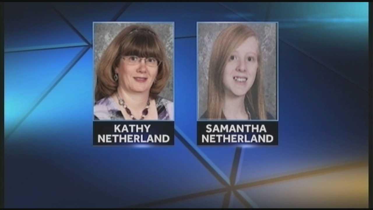 Kathy Netherland and Samantha Netherland