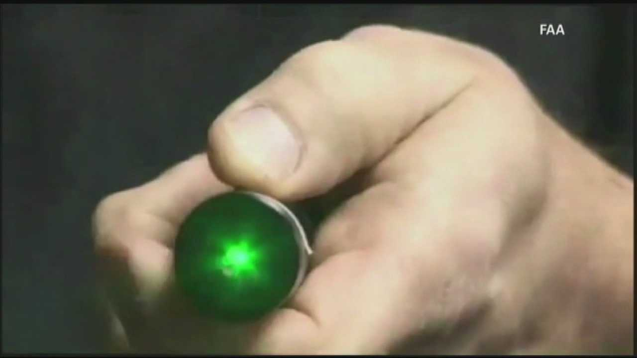 A nationwide program has been launched to stop people from pointing laser pointers at aircraft.