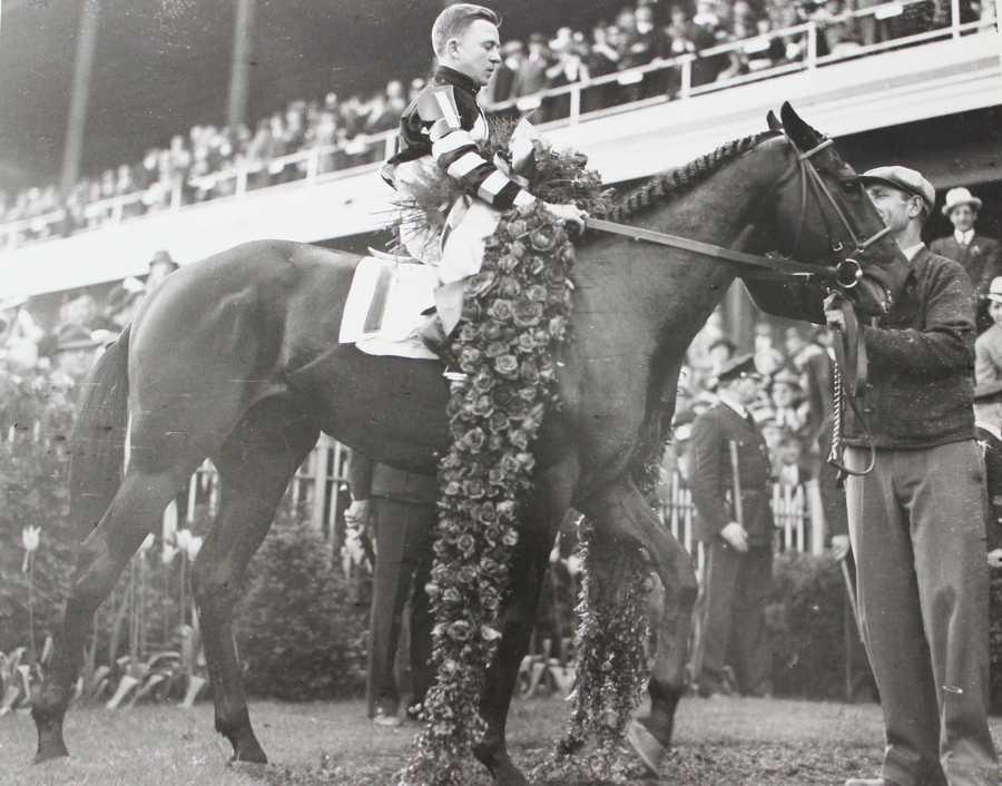 War Admiral (1937)Jockey: Charles Kurtsinger