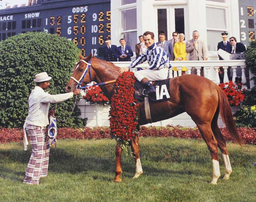 Secretariat (1973)Jockey: Ron Turcotte