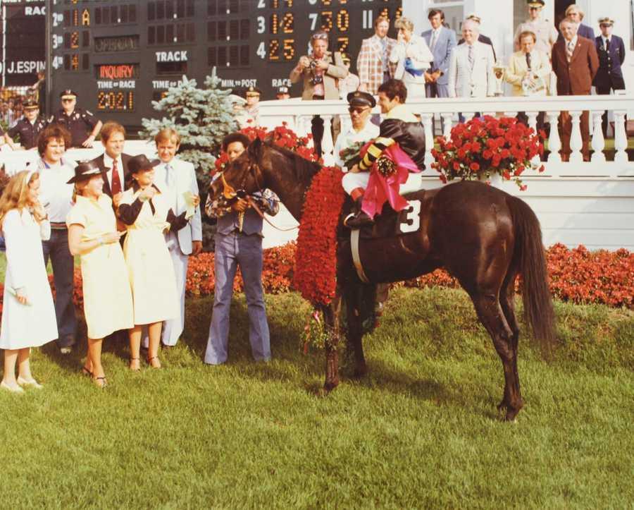Seattle Slew (1977)Jockey: Jean Cruguet