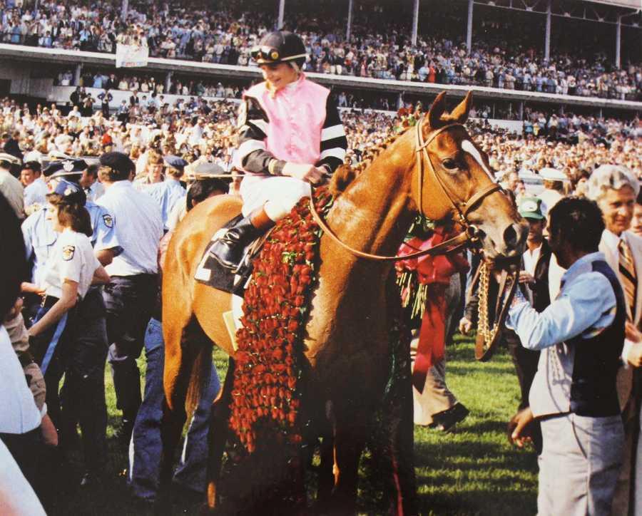 Affirmed (1978)Jockey: Steve Cauthen