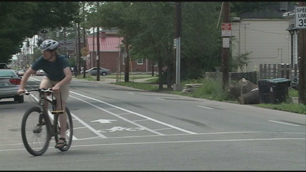 New bike lanes opened along some Louisville roadways
