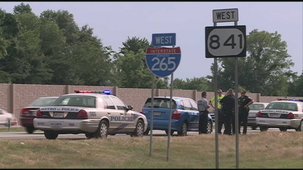 Louisville Metro Police are investigating after a man was shot along the Gene Snyder Freeway.