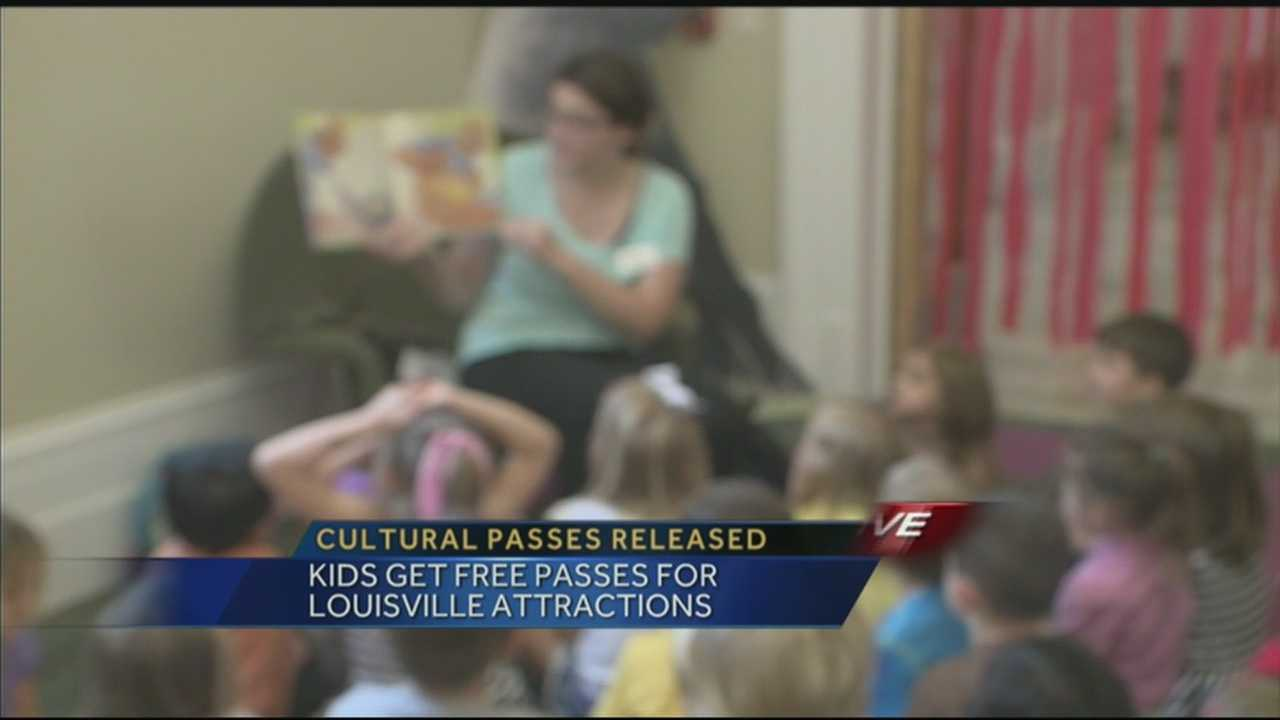 Kids get free passes for Louisville attractions.