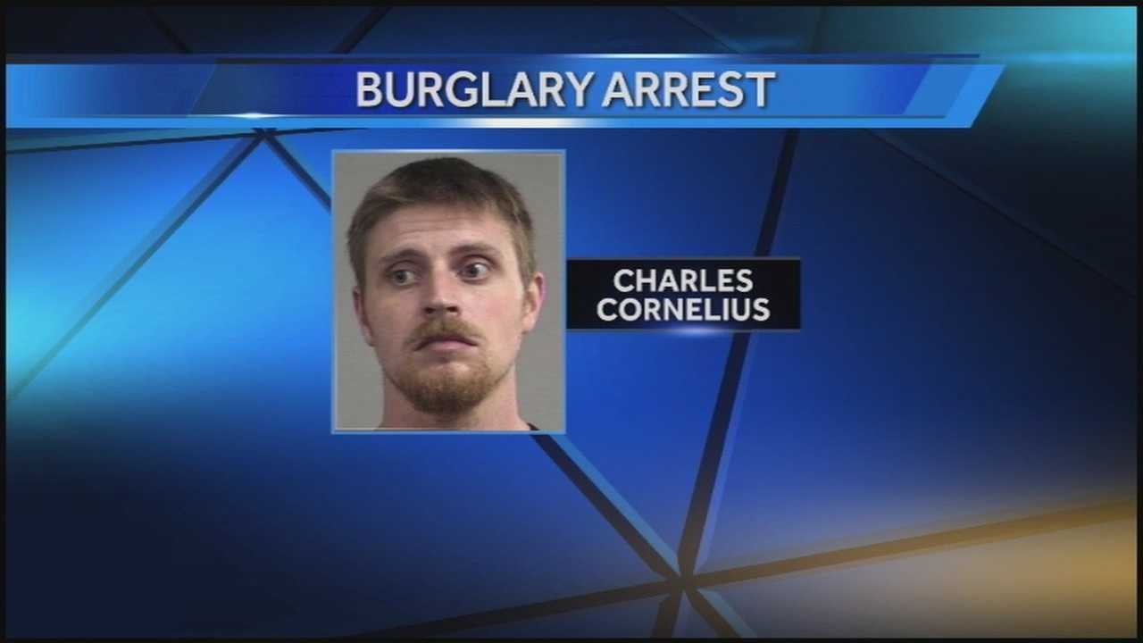 A man was arrested after admitting to police that he was trying to kidnap a baby during a robbery.