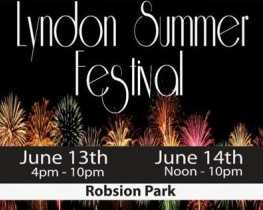 Lyndon Summer Festival is June 13-14 at Robsion Park