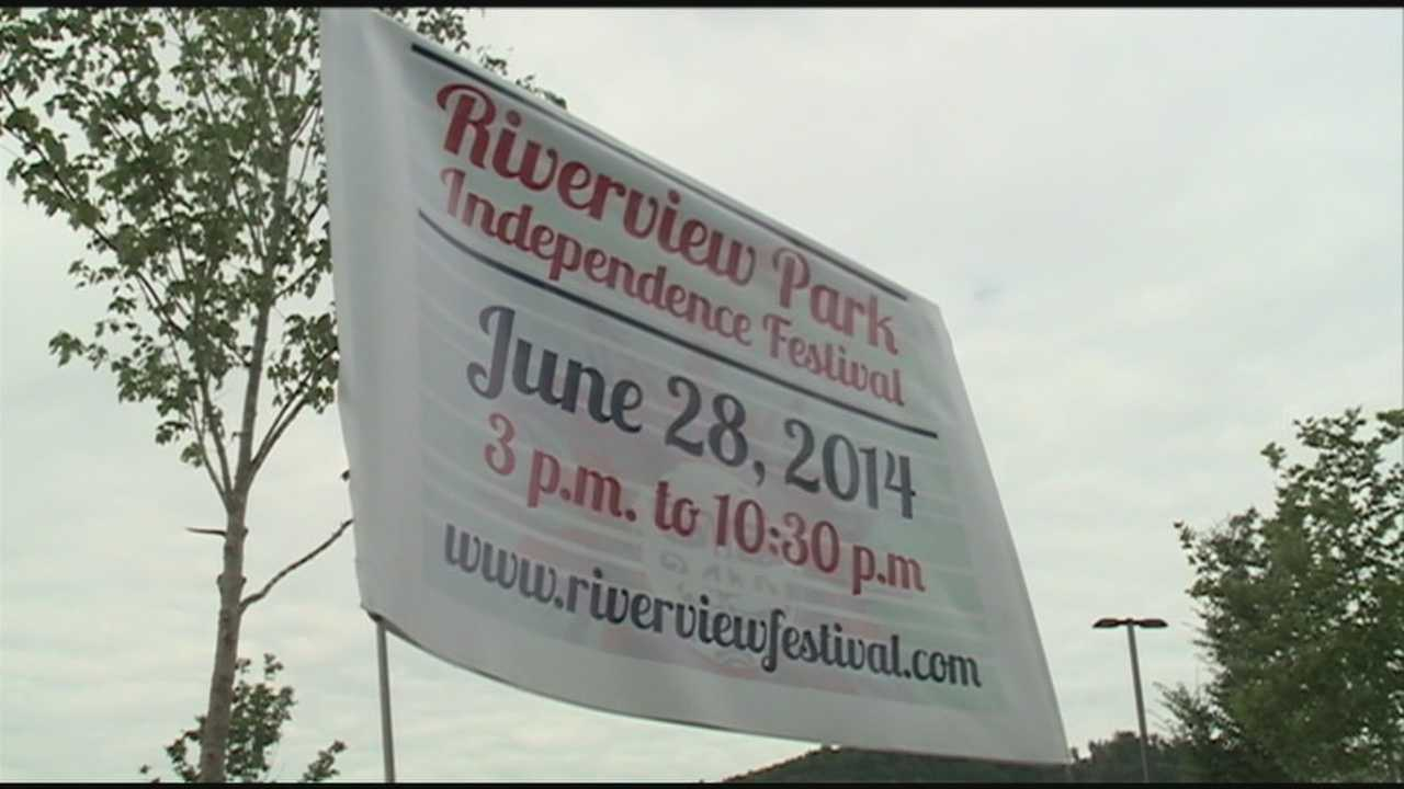 Fireworks will light the sky at this year's Riverview Park Independence Festival.