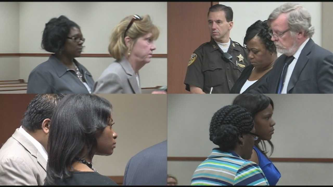 Four former Louisville day care owners accused of stealing hundreds of thousands of taxpayer dollars went before a judge Monday morning.