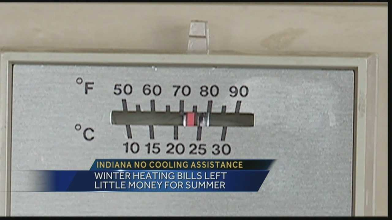 The Indiana Housing and Community Development Authority announced it has no money for cooling assistance programs, affecting nearly 130,000 people.