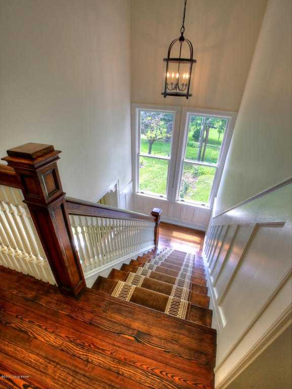 View from the the top of the staircase.
