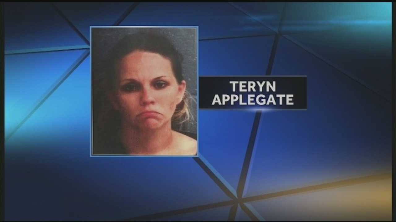 Teryn Applegate is accused of faking cancer and accepting donations from many in Harrison County.