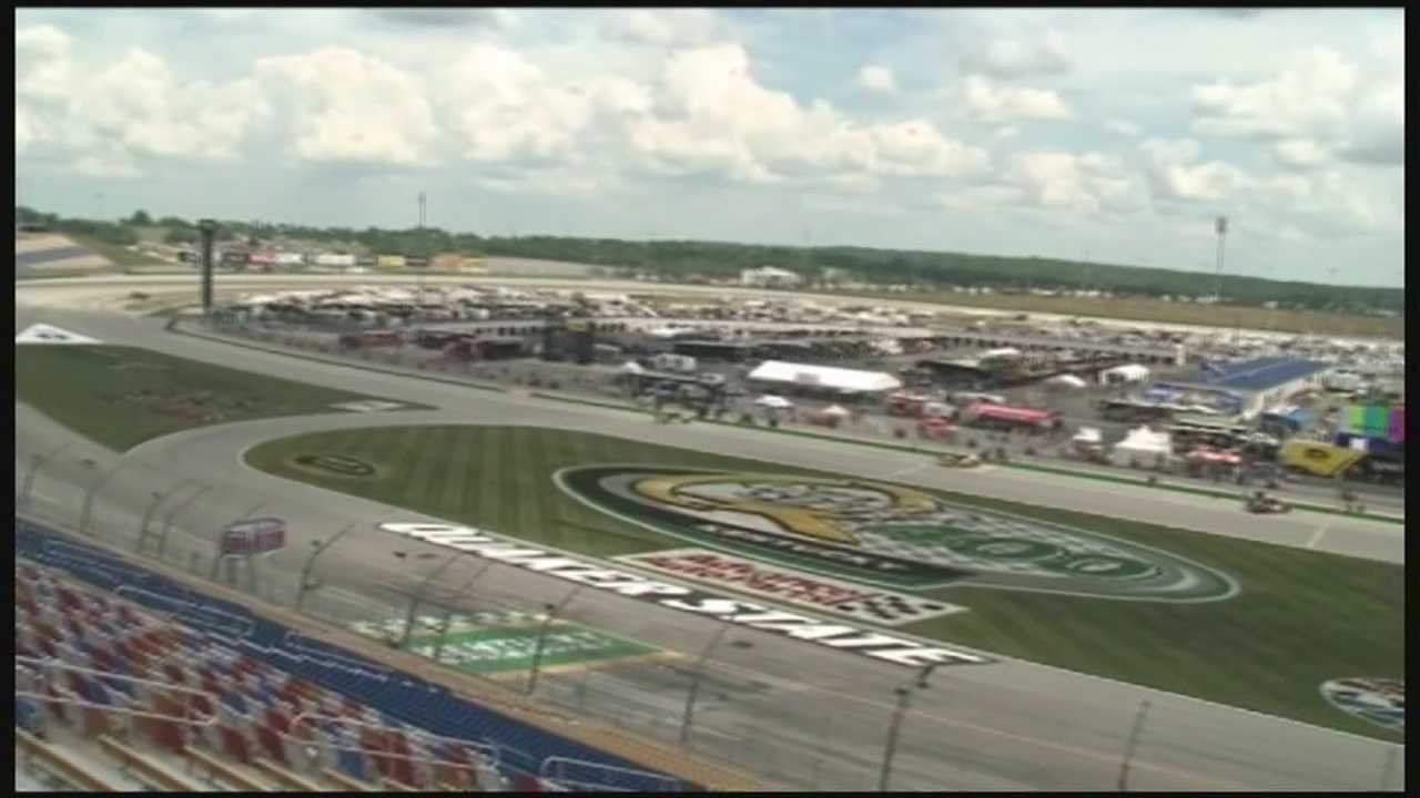 NASCAR is taking over Kentucky Speedway.