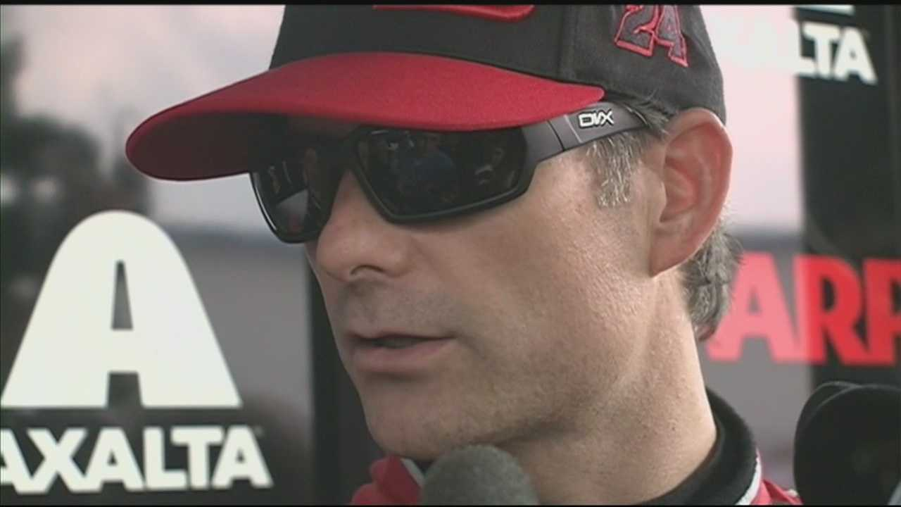 Jeff Gordon is ready to tackle the tough track at the Kentucky Speedway in Sparta this weekend.