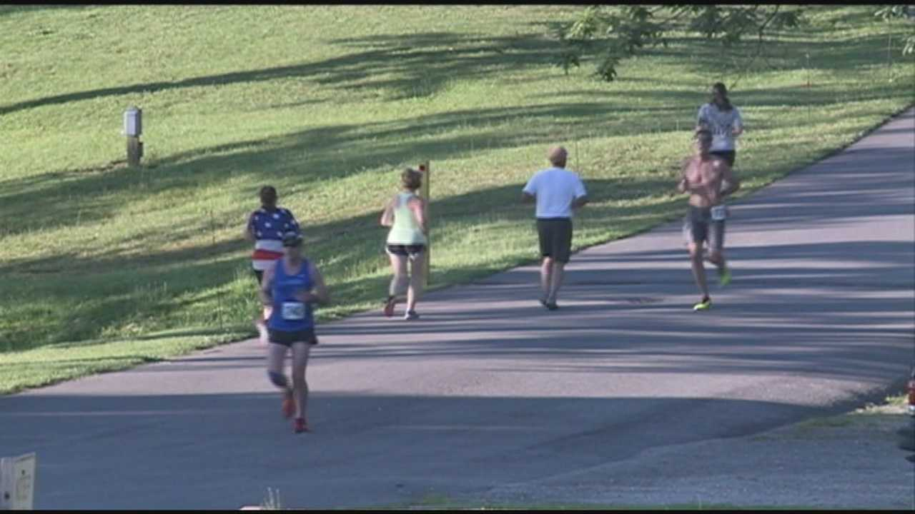 Runners from around the state are competing in the third annual U.S.A. Cares Heroes Run.
