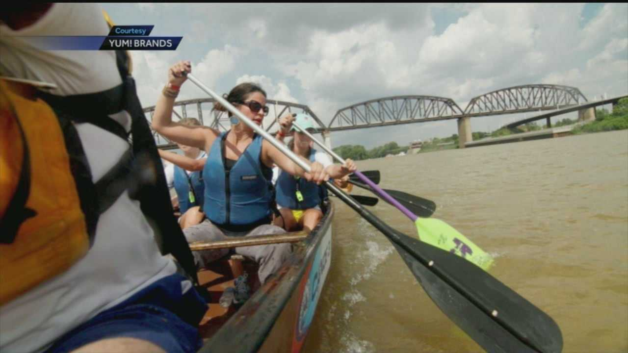 A paddling event is planned for next weekend to fight childhood hunger.