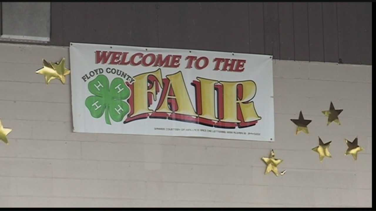 For the first time, a smoking ban is in place at the Floyd County 4H Fair.