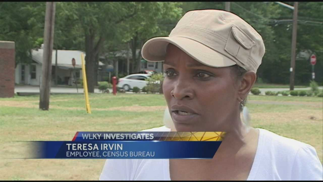 A woman diagnosed with lung cancer is upset that she may have gotten ill from drinking water at her place of employment.