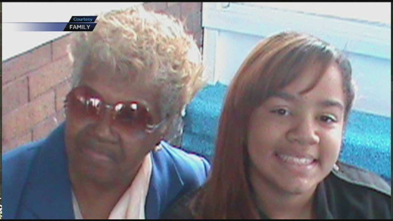 Family and friends remember an elderly woman who was hit by a car and died Tuesday night.