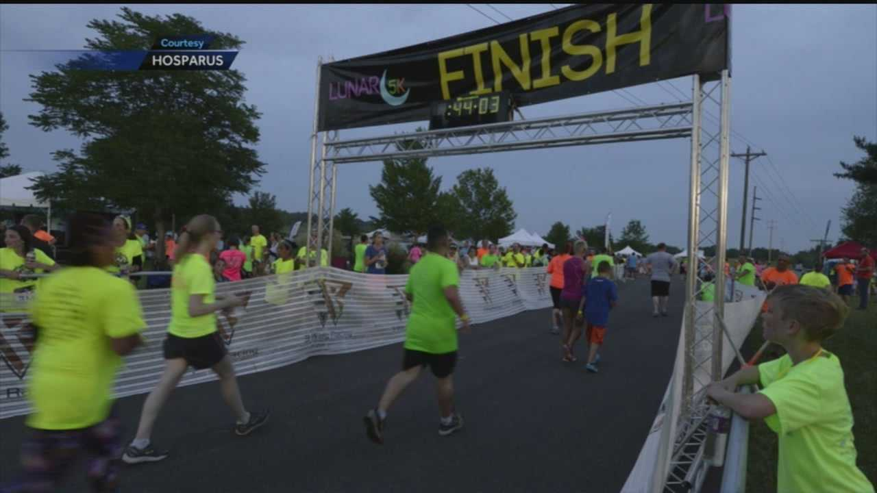 The Lunar 5K races are coming next weekend to benefit Hosparus.
