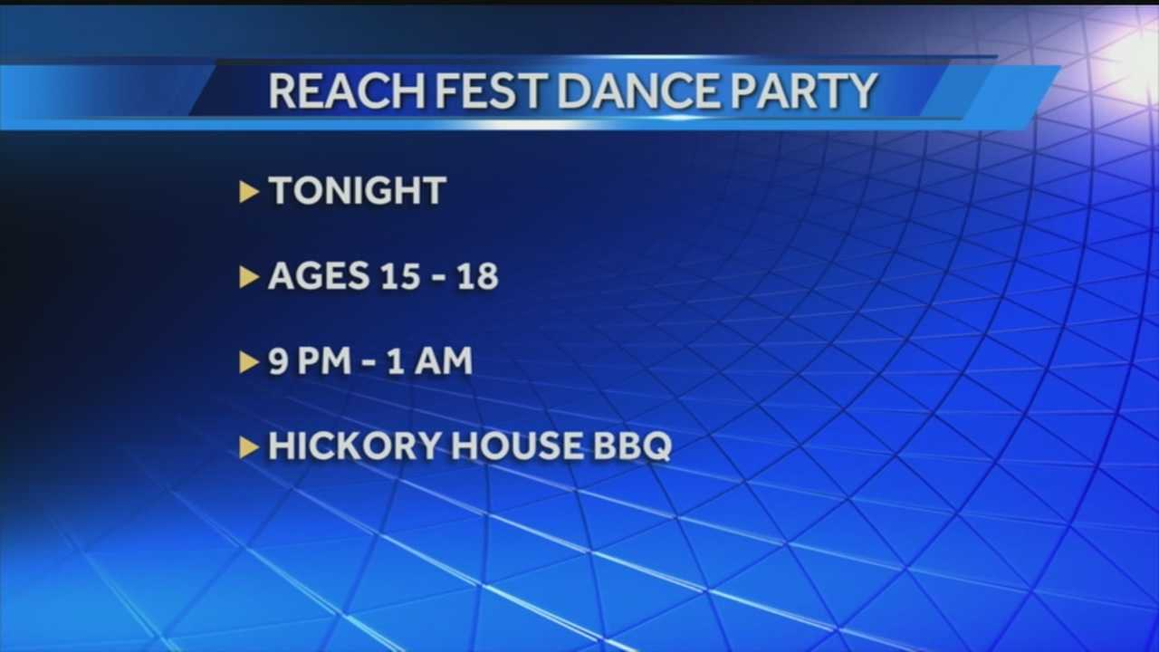 A dance party is being planned Saturday night to promote non-violence for Louisville youth.