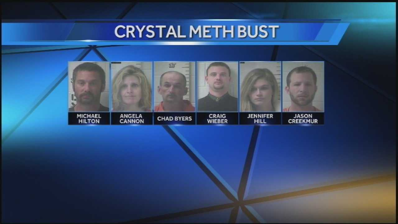 HTV Hub Edit Crystal Meth bust