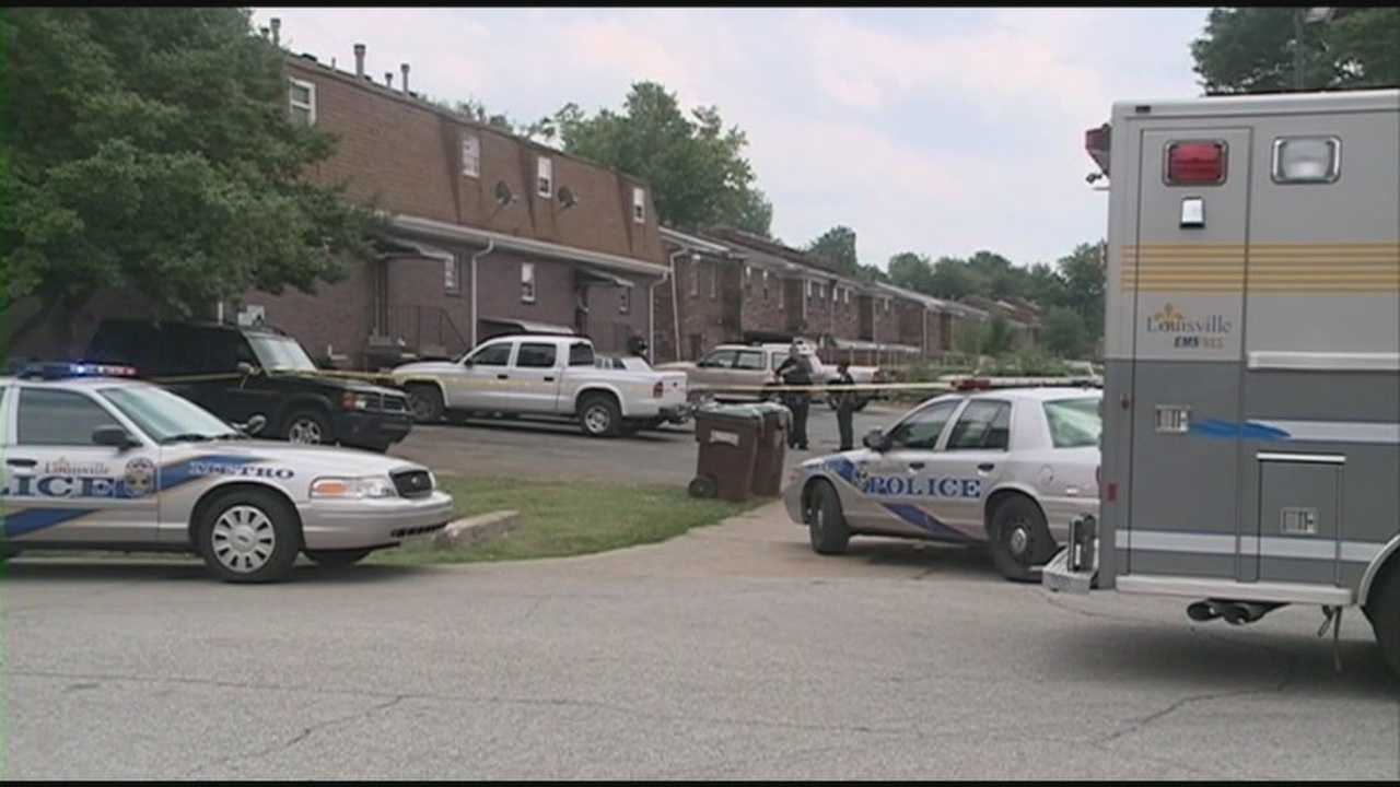Police said a man was shot to death Monday afternoon in an argument at an apartment complex on Fegenbush Lane.