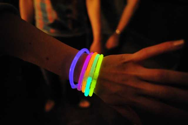 DO NOT bring glo-sticks to Forecastle. While they are bright and fun, they just simply are not allowed at the festival.
