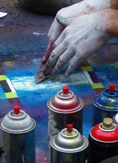 DO NOT bring spray paint or aerosol cans to Forecastle. While it is a celebration of music and art, everyone will have to save their artistic aspirations for another day.