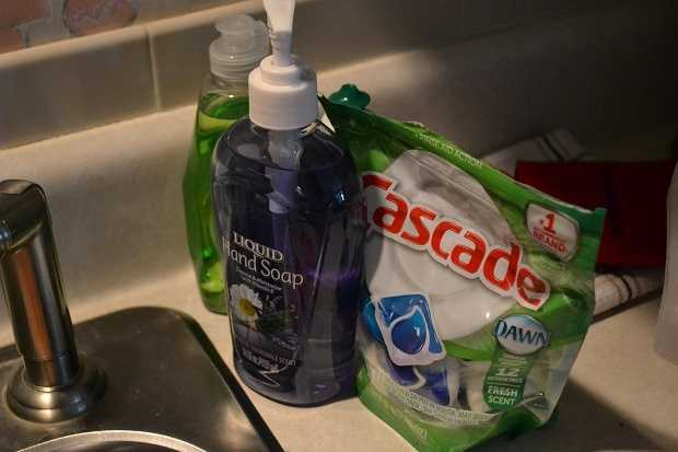 5. You wash all your own dishes. Yourself.