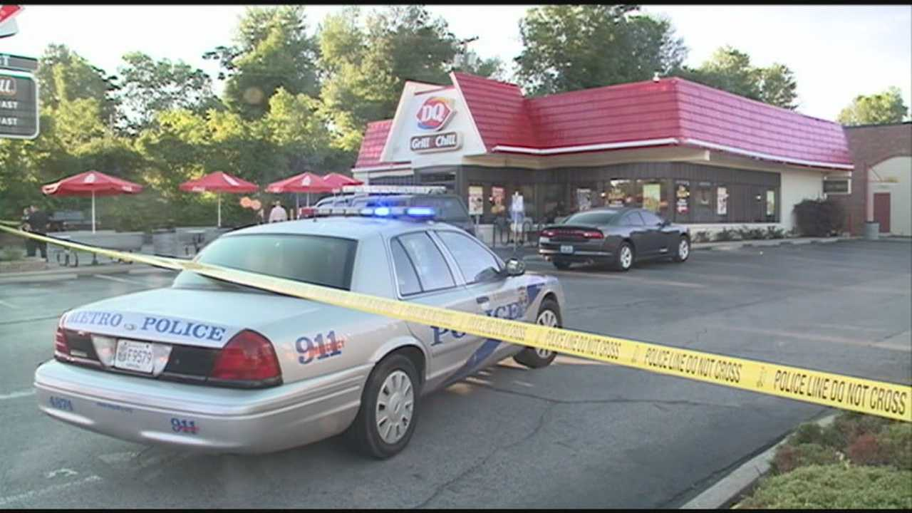 No one was injured Wednesday morning when the Dairy Queen in Middletown was robbed.