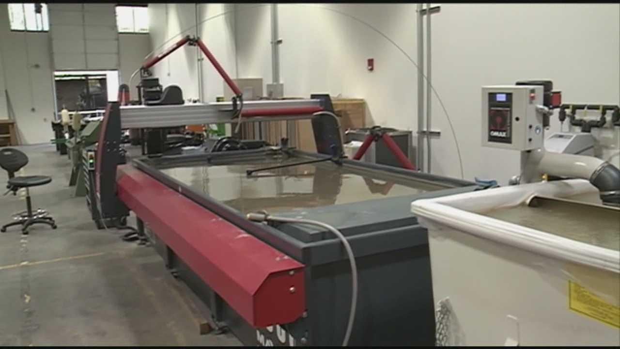 Louisville's first microfactory was unveiled by GE and the University of Louisville on Thursday.
