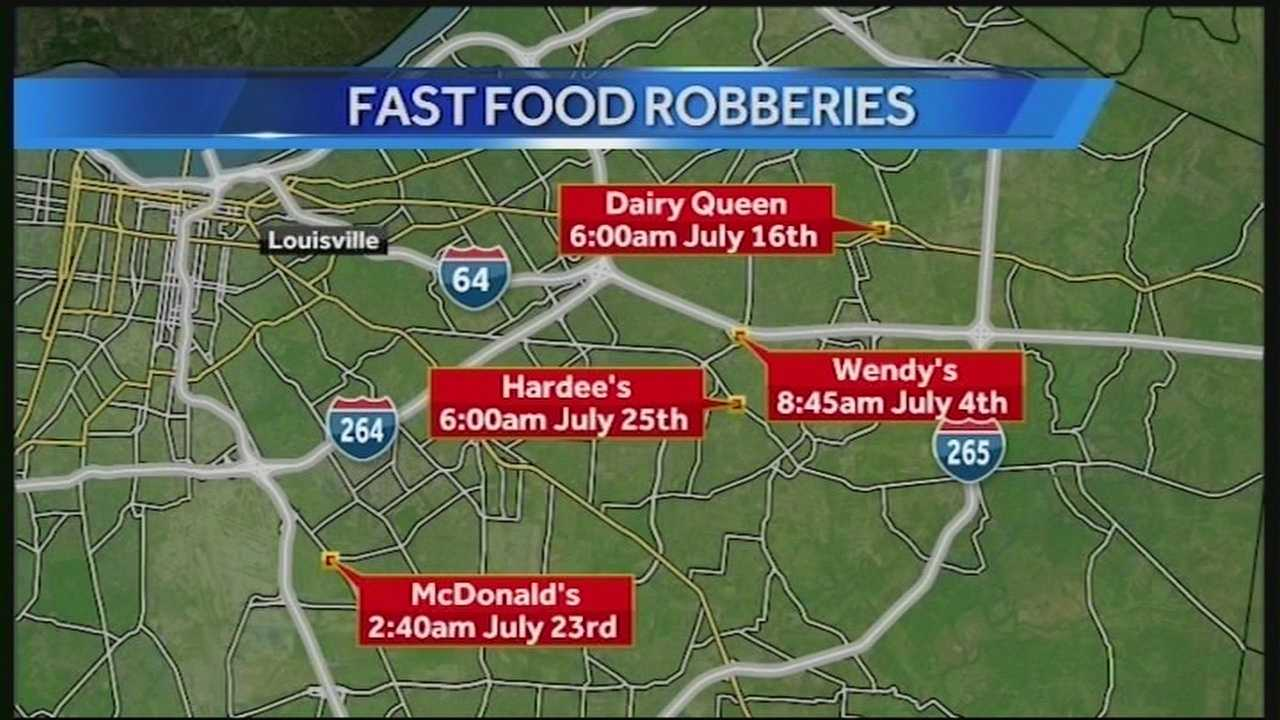 Police investigate 4th fast-food armed robbery this month