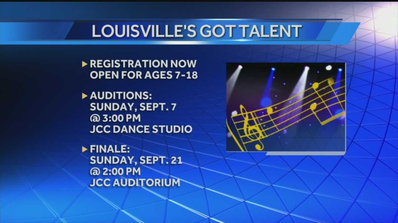 Registration is now open for this year's Louisville's Got Talent competition.
