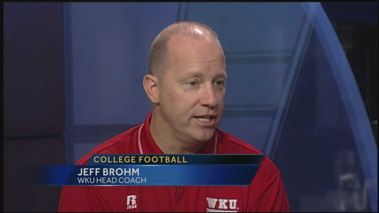WKU football coach Jeff Brohm talks about the team and the upcoming season.