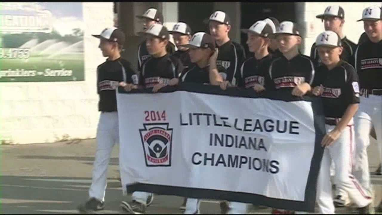 A New Albany youth baseball will be playing a regional tournament for a spot to play in the Little League World Series.