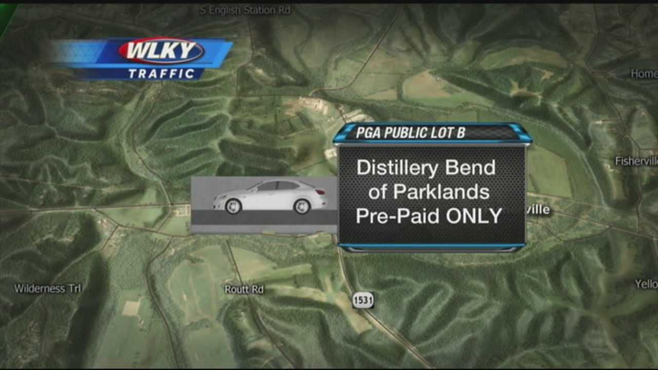 Traffic, parking plans released for PGA Championship
