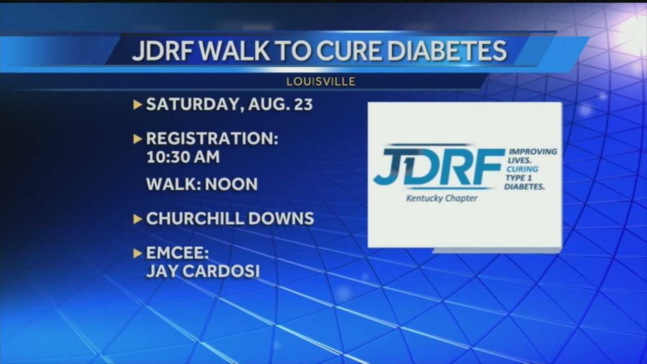 The annual Juvenile Diabetes Research Foundation Walk is being held Aug. 23 to raise money and awareness for Type 1 diabetes research.