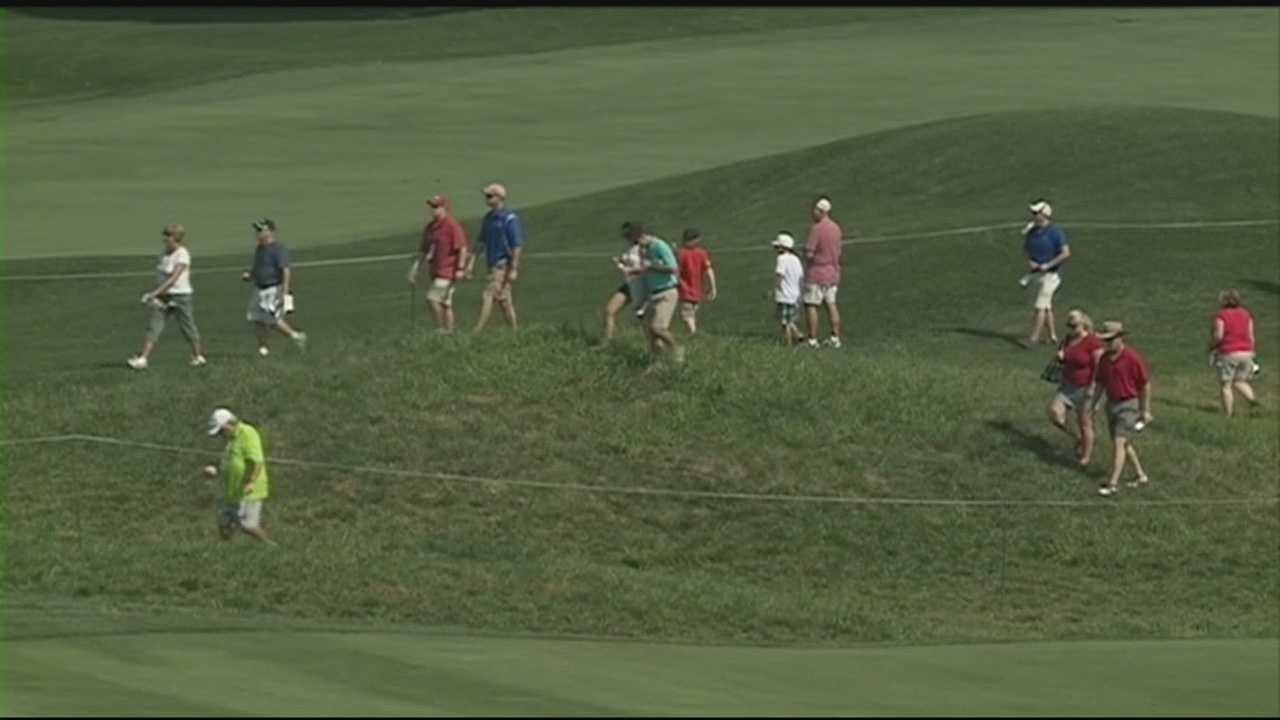 The PGA Championship at Valhalla Golf Club is expected to have a huge economic impact for the city.