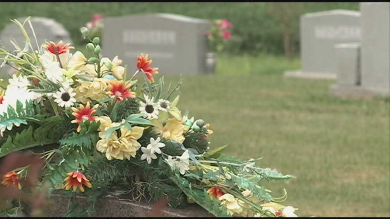 A former cemetery caretaker, Gerald Kincaid, is accused of selling families bogus plots and headstones.