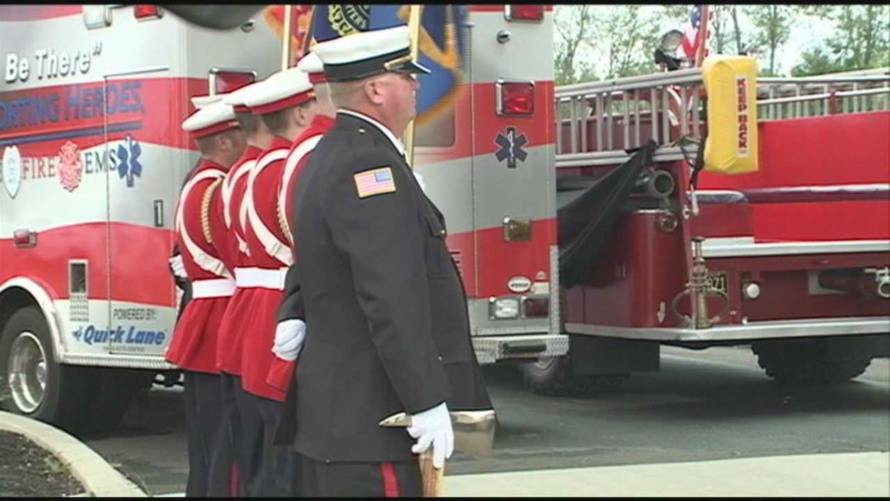 Family of fallen firefighter thanks community